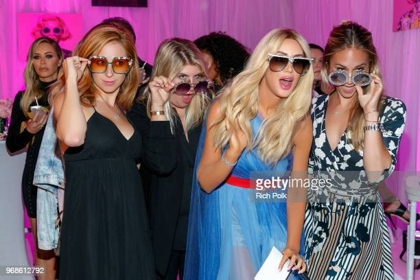 Kaki Swid and guests attend an event where model Kaki Swid hosts a designer event on June 4 2018 in Beverly Hills California