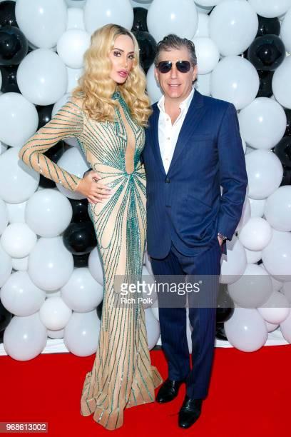 Kaki Swid and Scott Swid where model Kaki Swid hosts a designer event on June 4 2018 in Beverly Hills California