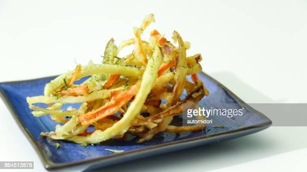Kakiage: Vegetable Tempura