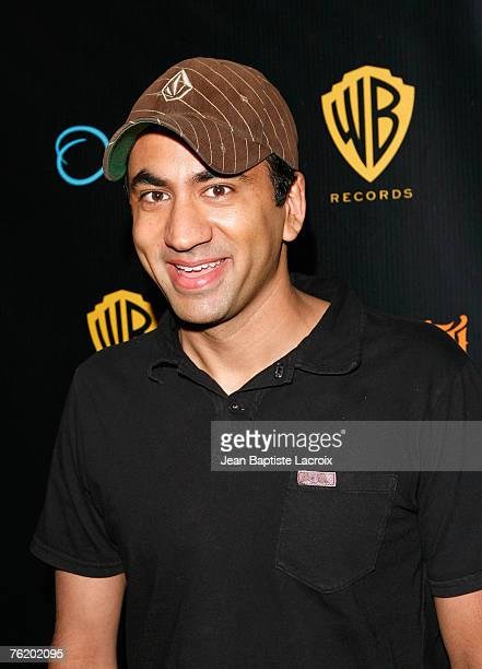 Kal Penn arrives for Talib Kweli's 'Ear Drum' release party held at One Sunset on August 20 2007 in Los Angeles California