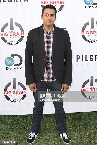 """Kal Penn attends the Premiere Party For Discovery's New Series """"The Big Brain Theory: Pure Genius"""" at WET Idea Playground on April 23, 2013 in Sun..."""