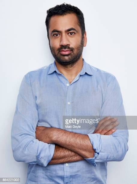 Kal Penn poses for a portraits at the Tribeca TV festival at Cinepolis Chelsea on September 24 2017