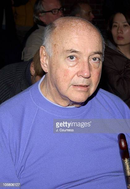 Kal Ruttenstein during Olympus Fashion Week Fall 2004 Sebastian Pons Front Row at Angel Orensanz Foundation in New York City New York United States