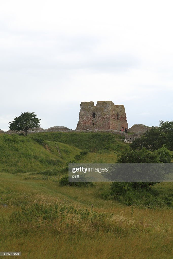 Kalø Slot - a ruin of a medieval fortress, Denmark : Stock Photo