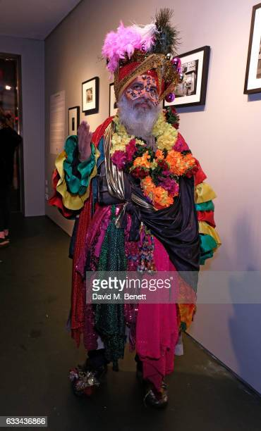 Kala attends a private view of 'A Paul Raymond Show' an exhibition curated by Alex Wood and India Rose James at Soho Revue on February 1 2017 in...