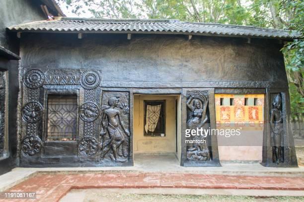 kala bhavan in viswa bharati university, shantiniketan - laureate stock pictures, royalty-free photos & images