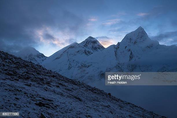Kala Patthar or is around 5600m high and is known to give the best view of Mt Everest it's a steep 2 hour climb and usually starts around 4am It is...