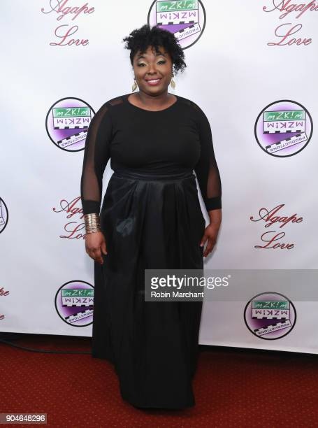 Kala Scruggs attends Agape Love Red Carpet on January 13 2018 in Milwaukee Wisconsin