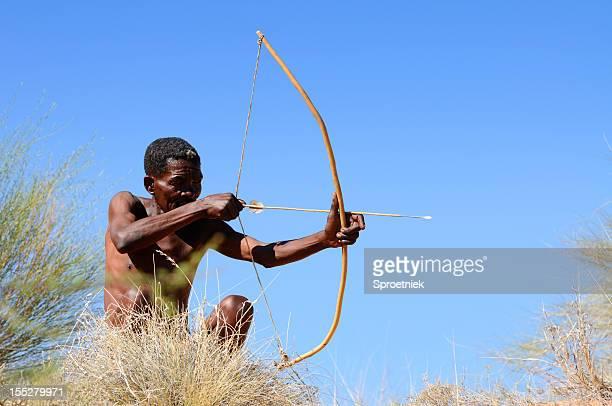 Kalahari bushman hunting