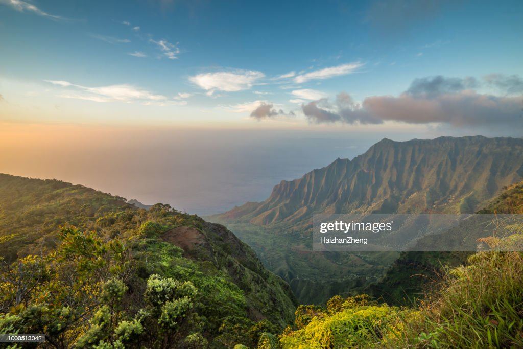 Kalalau Valley, Kauai : Stock Photo