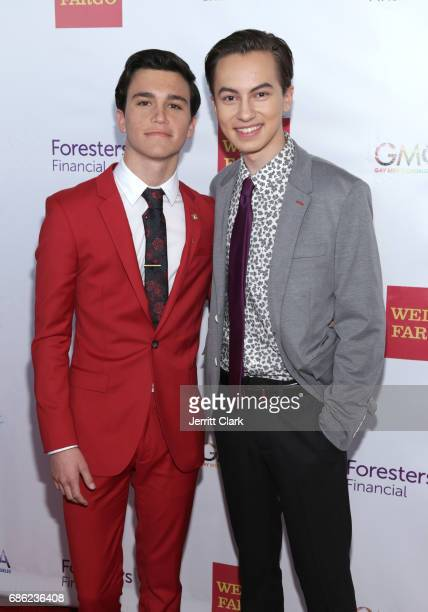 Kalama Epstein and Hayden Byerly attend Gay Men's Chorus Of Los Angeles 6th Annual Voice Awards at JW Marriott Los Angeles at LA LIVE on May 20 2017...