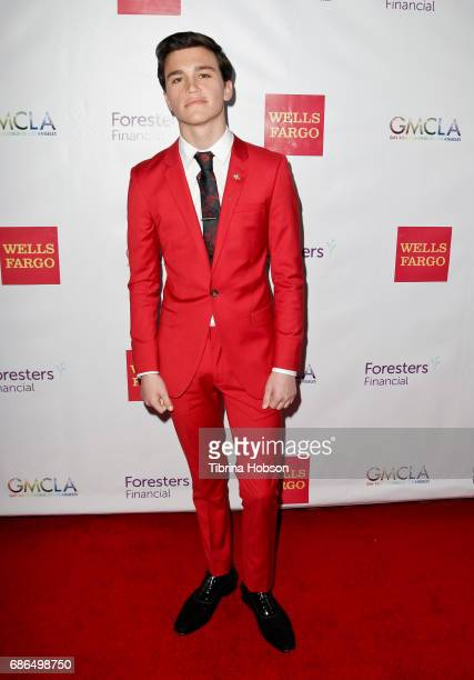Kalama Epstein attends the Gay Men's Chorus of Los Angeles 6th annual Voice Awards at JW Marriott Los Angeles at LA LIVE on May 20 2017 in Los...