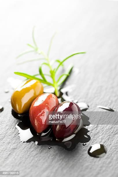 kalamata olives - kalamata olive stock pictures, royalty-free photos & images