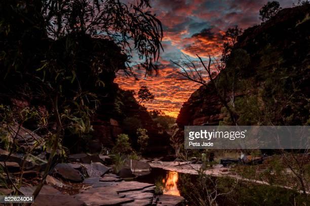 Kalamina Gorge Sunrise