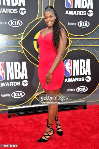 Kalani Brown attends the 2019 NBA Awards at Barker Hangar on June 24 2019 in Santa Monica California