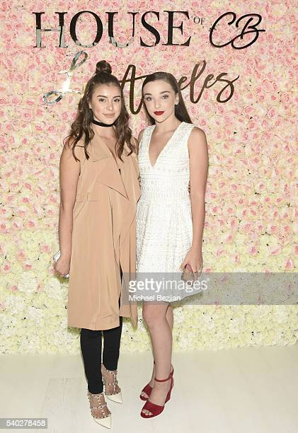 Kalani Hiliker and Kendall Vertes arrive at House of CB Los Angeles on June 14 2016 in Los Angeles California