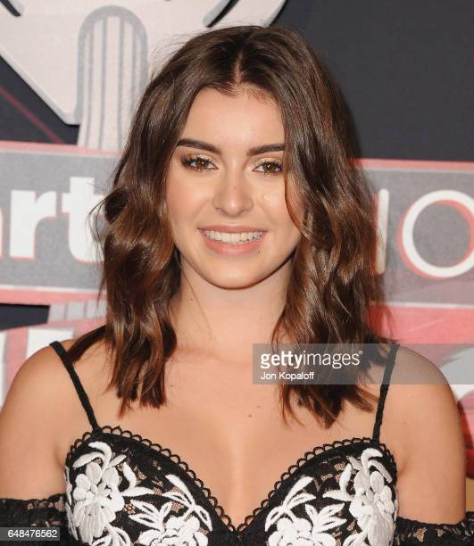 Kalani Hilliker arrives at the 2017 iHeartRadio Music Awards at The Forum on March 5 2017 in Inglewood California