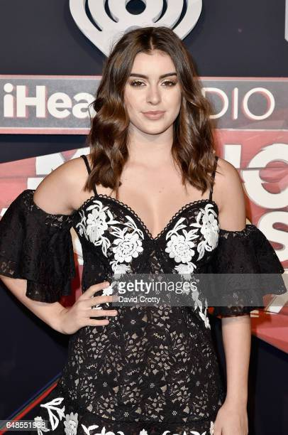 Kalani Hilliker attends the 2017 iHeartRadio Music Awards Arrivals at The Forum on March 5 2017 in Inglewood California