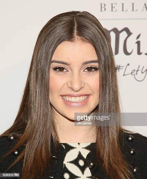 Kalani Hilliker attends the Miss Me and Cosmopolitan's spring campaign launch event on February 3 2016 in West Hollywood California