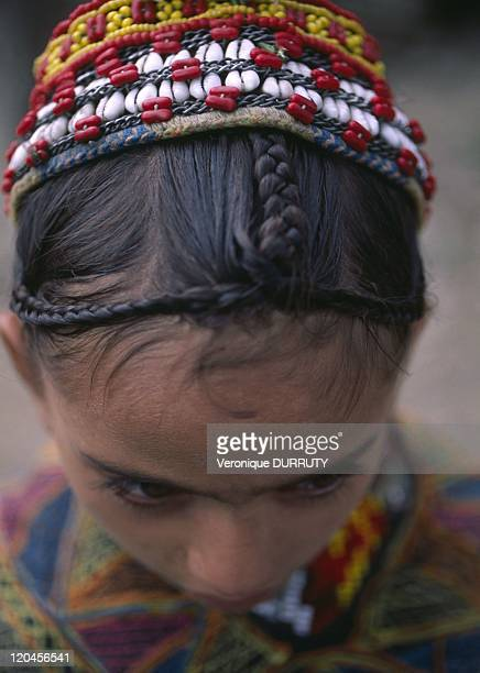 Kalash girl in Bumburet Pakistan In north Pakistan the kales try to maintain their traditional way of life in spite the pressure of Islamism
