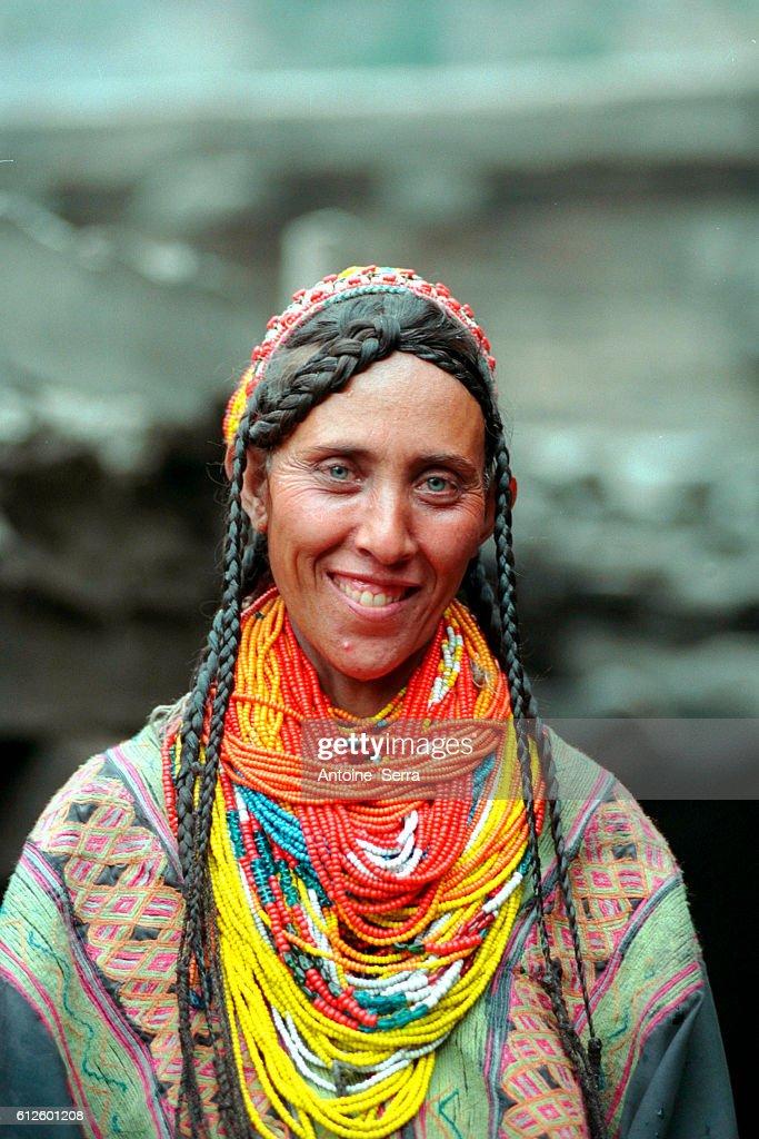 The Kalash ethnic group in north Pakistan : News Photo