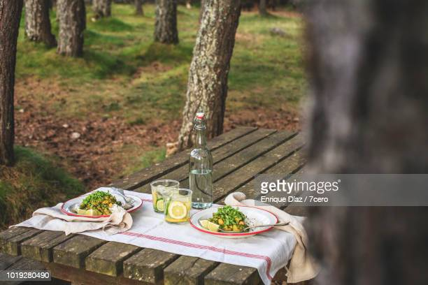 Kale and Zucchini Curry in the Forest, from the tree 3