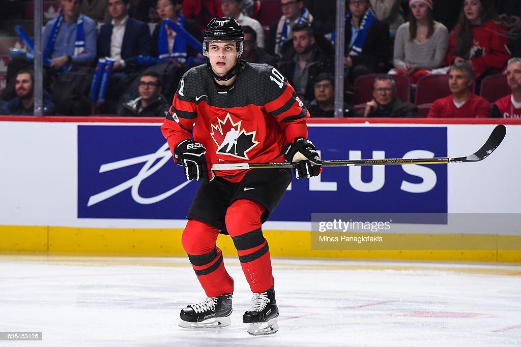 Finland v Canda: Exhibition - 2017 IIHF World Junior Championship