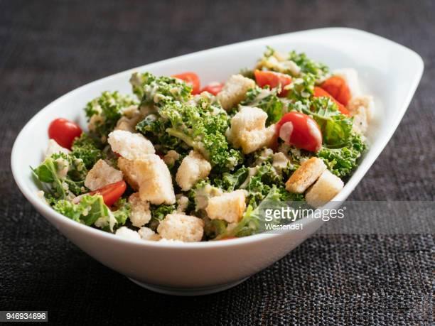 Kale quinoa caesar Salad