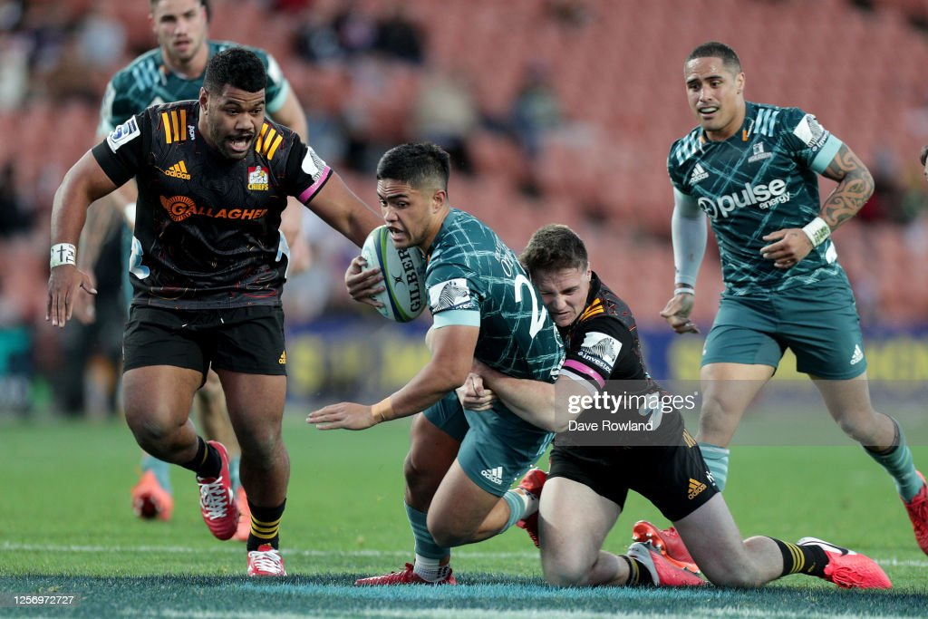 Super Rugby Aotearoa Rd 6 - Chiefs v Highlanders : News Photo