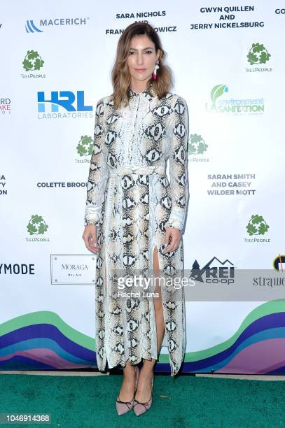 Kalee Hewlett attends TreePeople's 31st Annual An Evening Under The Harvest Moon Gala at TreePeople on October 6 2018 in Beverly Hills California