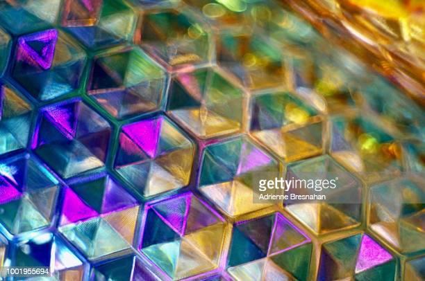 Kaleidoscope Honeycomb Abstract