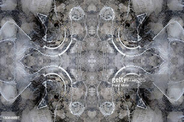 kaleidoscope pattern - eisheilige stock-fotos und bilder