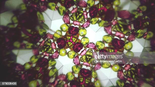 Kaleidoscopic Image Of Abstract Decoration