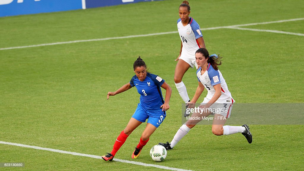 France v USA: Group C - FIFA U-20 Women's World Cup Papua New Guinea 2016
