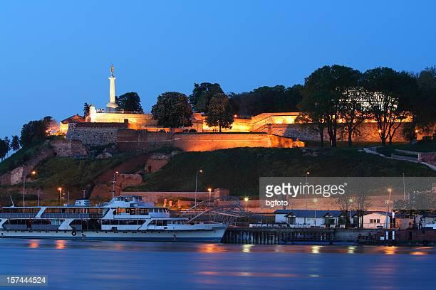 kalemegdan fortress - belgrade serbia stock photos and pictures