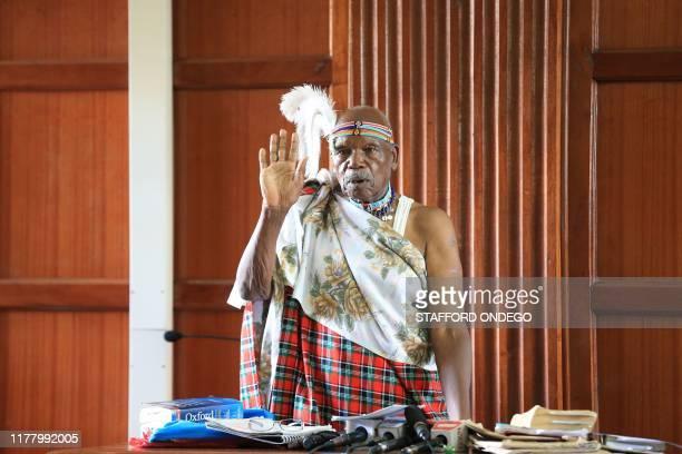 A Kalenjin elder John Kiplagat Arap Koech who is an interested party witnesses in the case seeking to have antiFemale Genital Mutilation laws...