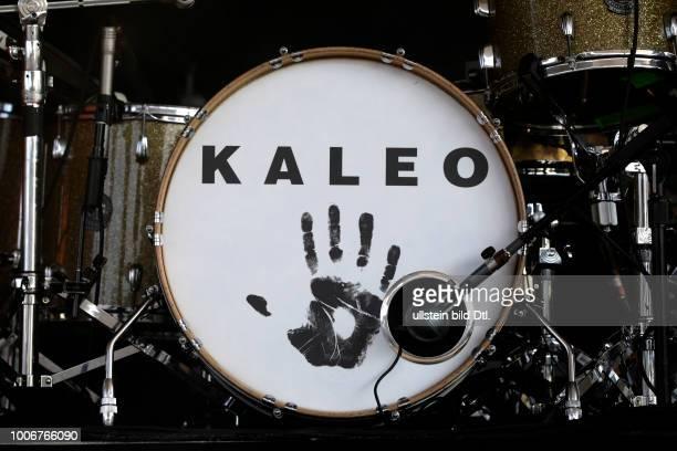 """Kaleo """"A/B""""-Tour Kaleo bestehen aus: Jökull Júlíusson , Davíð Antonsson , Daníel Ægir Kristjánsson und Rubin Pollock am 19. Juni 2017 auf der..."""