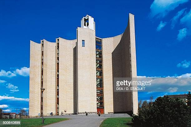 Kaleva church 19591966 Tampere Finland 20th century
