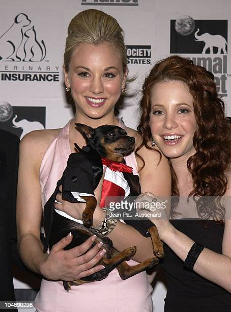 Kaley Cuoco Amy Davidson during The 17th Annual Genesis Awards Pressroom at The Beverly Hilton in Beverly Hills California United States