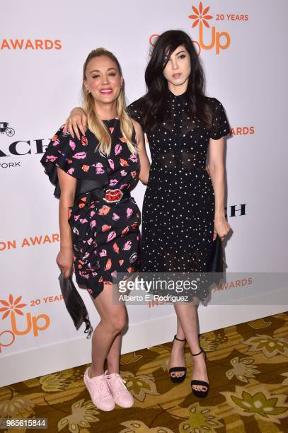 Kaley Cuoco and Briana Cuoco attend Step Up's 14th annual Inspiration Awards at the Beverly Wilshire Four Seasons Hotel on June 1 2018 in Beverly...