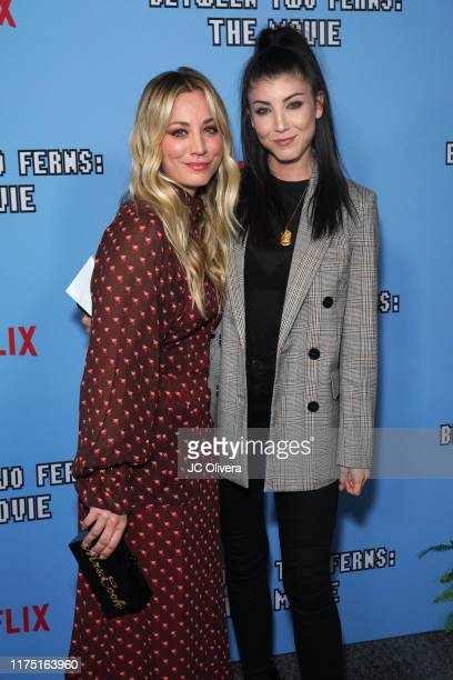 Kaley Cuoco and Briana Cuoco attend the LA premiere of Netflix's 'Between Two Ferns The Movie' at ArcLight Hollywood on September 16 2019 in...