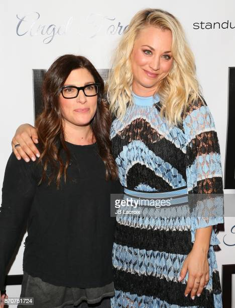 Kaley Cuoco and Rebecca Corry attend the 7th Annual Stand Up For Pits on November 5, 2017 in Los Angeles, California.