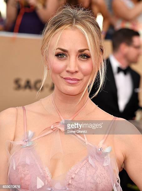 Kaley Cuoco arrives at the 23rd Annual Screen Actors Guild Awards at The Shrine Expo Hall on January 29 2017 in Los Angeles California