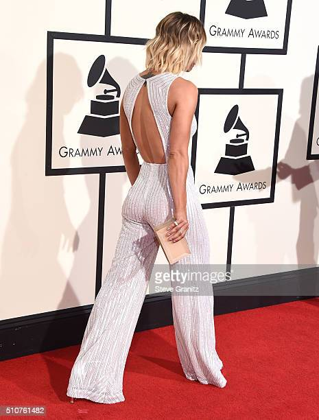 Kaley Cuoco arrives at the The 58th GRAMMY Awards at Staples Center on February 15 2016 in Los Angeles City