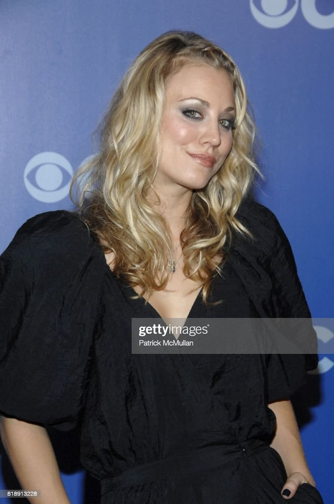Kaley Cuoco attends CBS UPFRONT 2010 at Damrosch Park on May 19, 2010 in New York City.