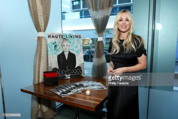 Kaley Cuoco attends Haute Living Celebrates Kaley Cuoco Cover Launch on May 29, 2019 in Los Angeles, California.
