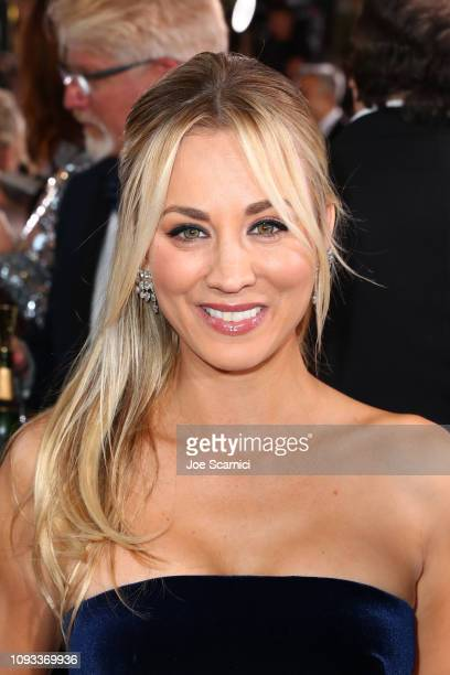 Kaley Cuoco attends Moet & Chandon at The 76th Annual Golden Globe Awards at The Beverly Hilton Hotel on January 6, 2019 in Beverly Hills, California.