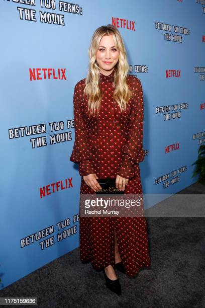 "Kaley Cuoco attends Netflix's special screening of ""Between Two Ferns: The Movie"" on September 16, 2019 in Los Angeles, California."