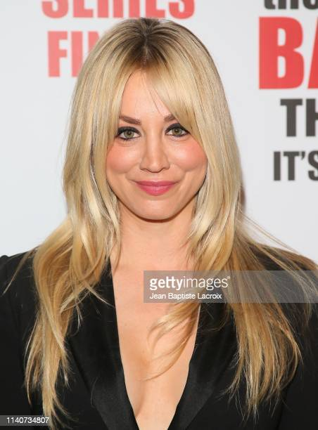 "Kaley Cuoco attends series finale party for CBS' ""The Big Bang Theory"" at The Langham Huntington, Pasadena on May 01, 2019 in Pasadena, California."