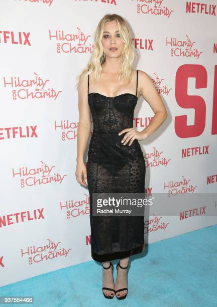Kaley Cuoco attends Seth Rogen's Hilarity For Charity at Hollywood Palladium on March 24 2018 in Los Angeles California